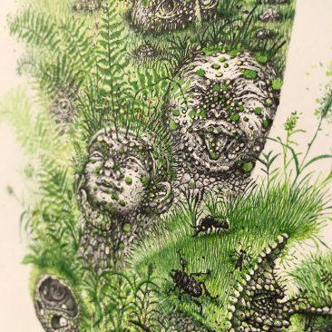 Monika Mitkute - King Dair (Detail 11)