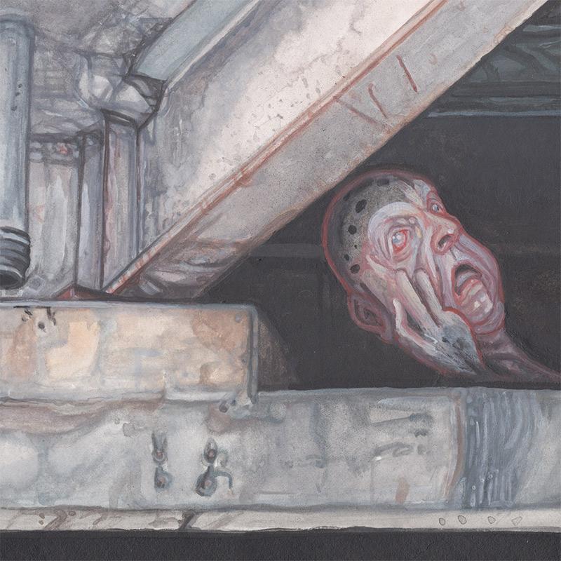 Mow Skwoz - Hide (Detail 1)