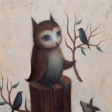 Paul Barnes - The Order of The Owl (Detail 1)