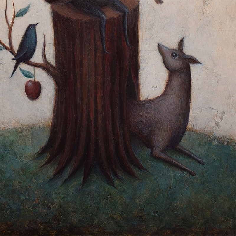 Paul Barnes - The Order of The Owl (Detail 2)