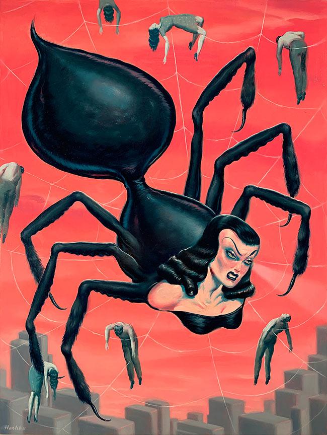 Ryan Heshka - Spider Pinky