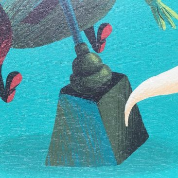 Scott Balmer - Ghost in the Machine (Print Detail 2)