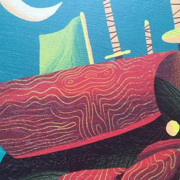 Scott Balmer - Ghost in the Machine (Print Detail 3)