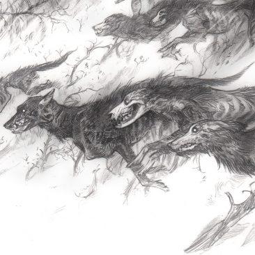 Tiffany Turrill - Hundeprest (Detail 2)