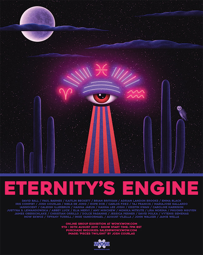 Eternity's Engine - Flyer (Josh Courlas)
