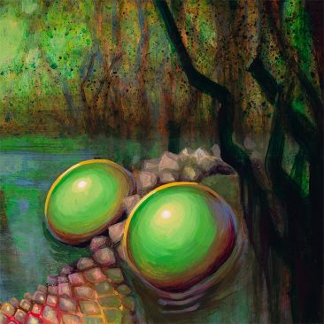 Jacqueline Gallagher - Swamp Thang (Detail 2)