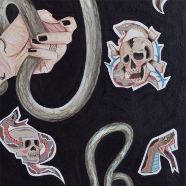 Mariajose Gallardo - Lilith (Detail 2)