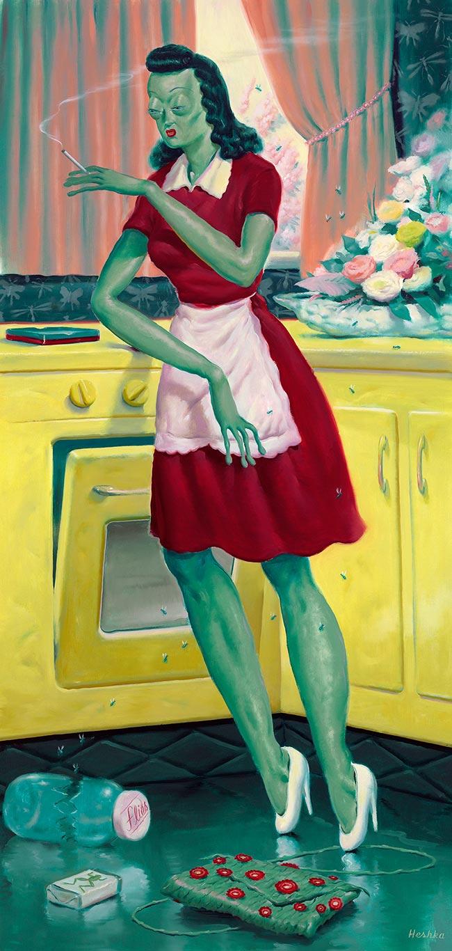 Ryan Heshka - Frog Wife