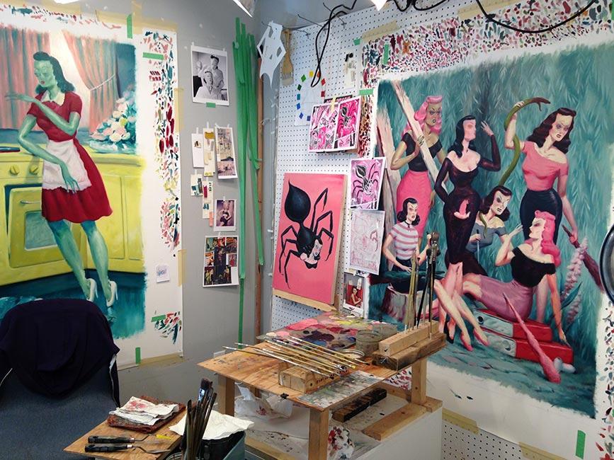 Ryan Heshka - Studio 1
