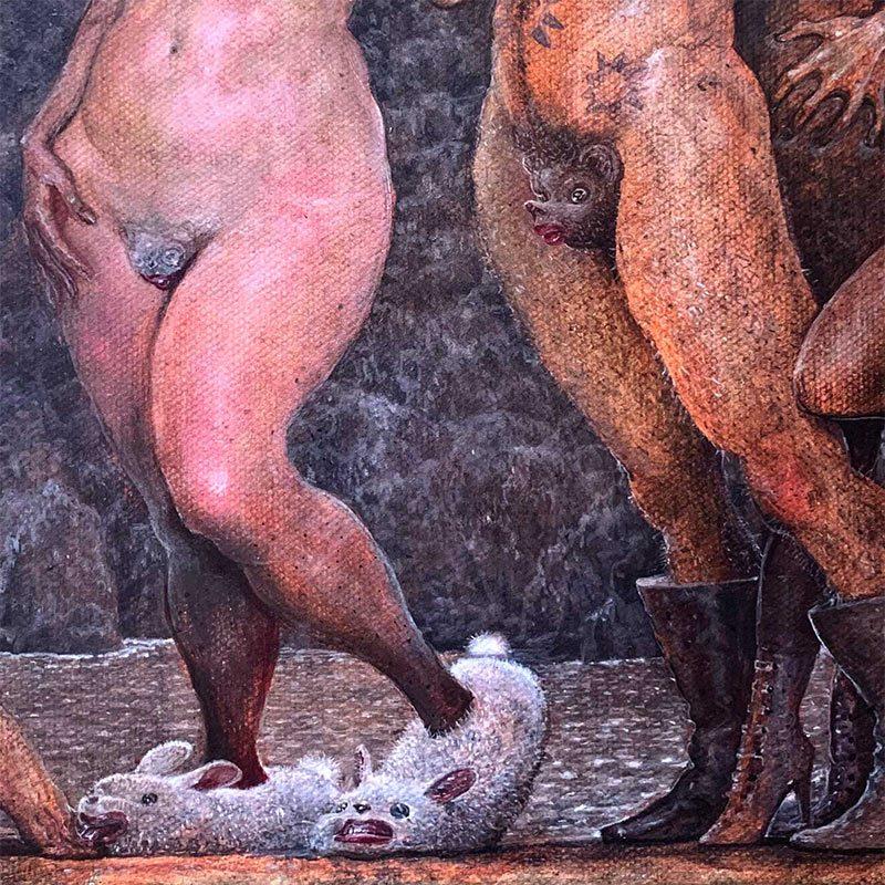 Scott G. Brooks - Demon Dance (Detail 3)