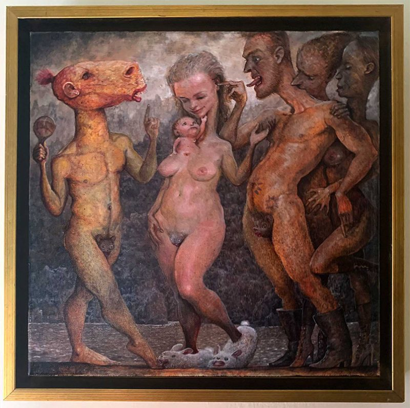 Scott G. Brooks - Demon Dance (Framed - Front)