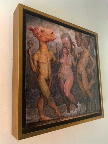 Scott G. Brooks - Demon Dance (Framed - Side)