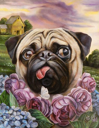 Claudia Griesbach-Martucci -Purple Rose of Cujo