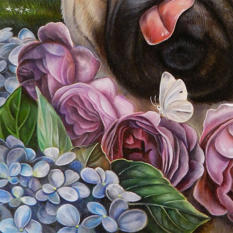 Claudia Griesbach-Martucci -Purple Rose of Cujo (Detail 2)