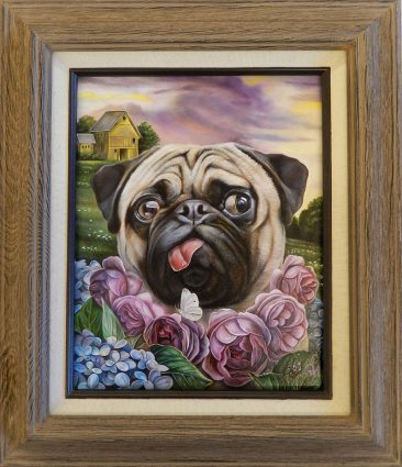 Claudia Griesbach-Martucci -Purple Rose of Cujo (Framed)