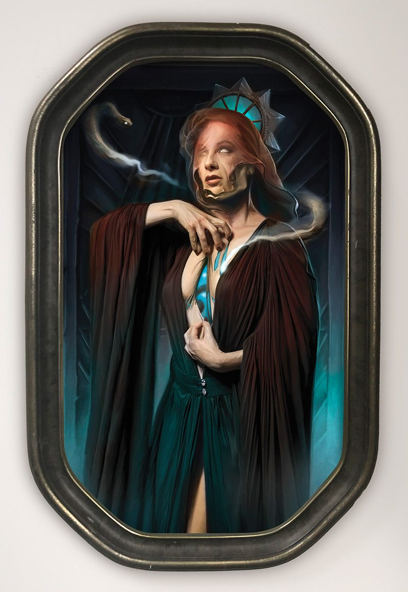 David Seidman - The Serpent Within (Framed)