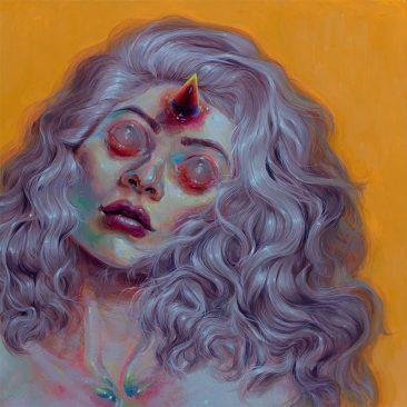 Jacqueline Gallagher - Rainbow Soul (Detail 1)