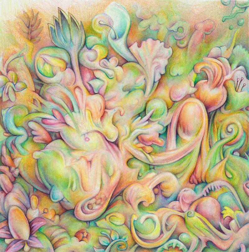James Oberschlake - Floral Mirage