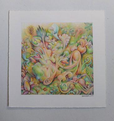 James Oberschlake - Floral Mirage (Border 1)
