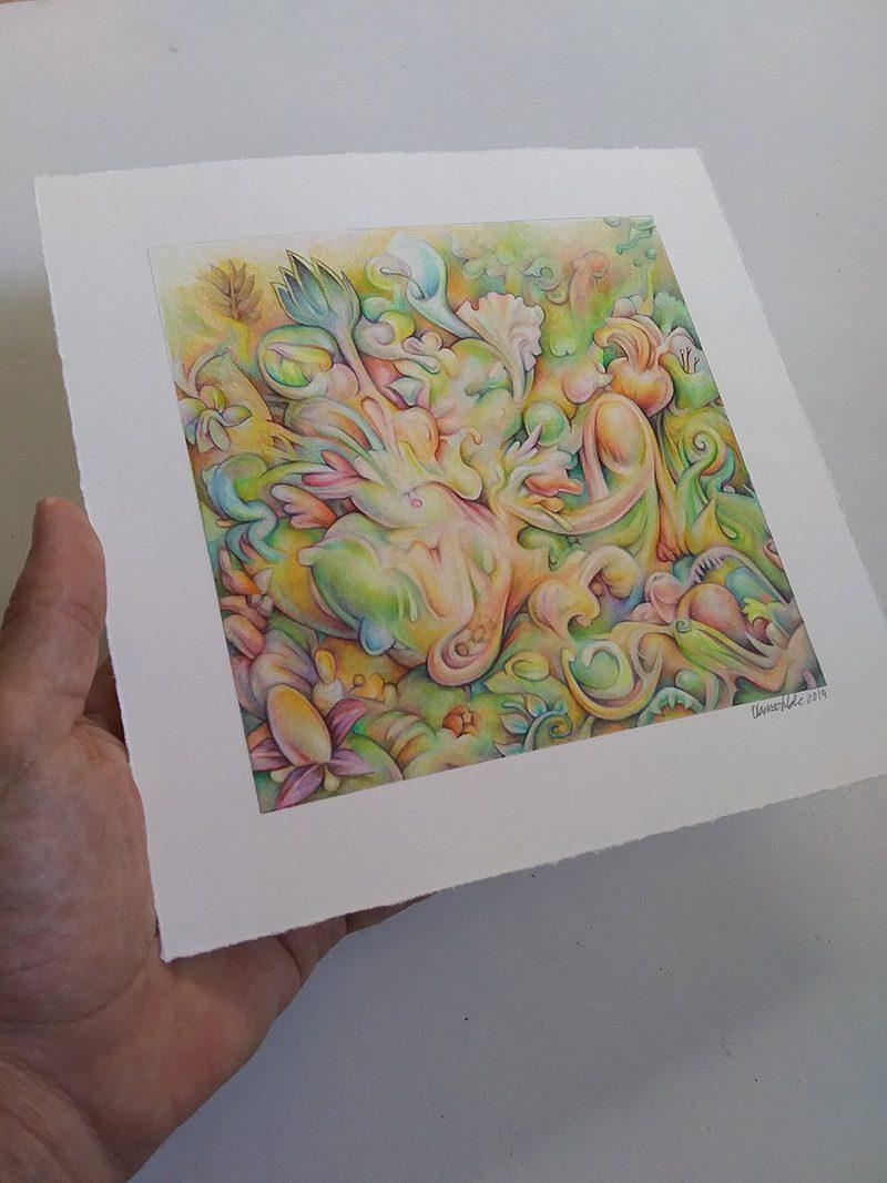 James Oberschlake - Floral Mirage (Border 2)