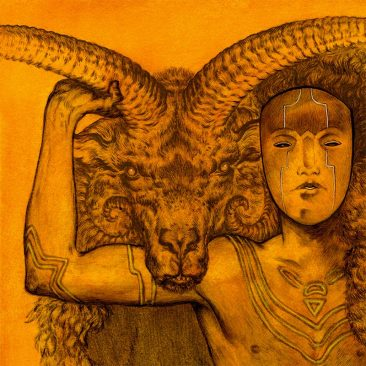 Jason Mowry - The Golden Fleece (Detail 1)