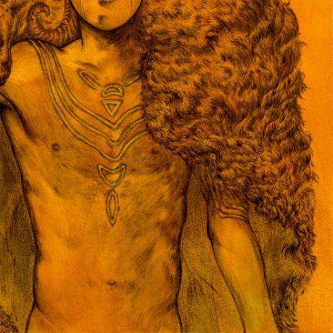 Jason Mowry - The Golden Fleece (Detail 2)