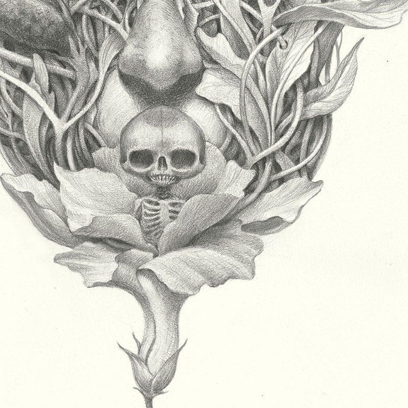 John Walker - Song of a Tendril Weaver (Detail 2)