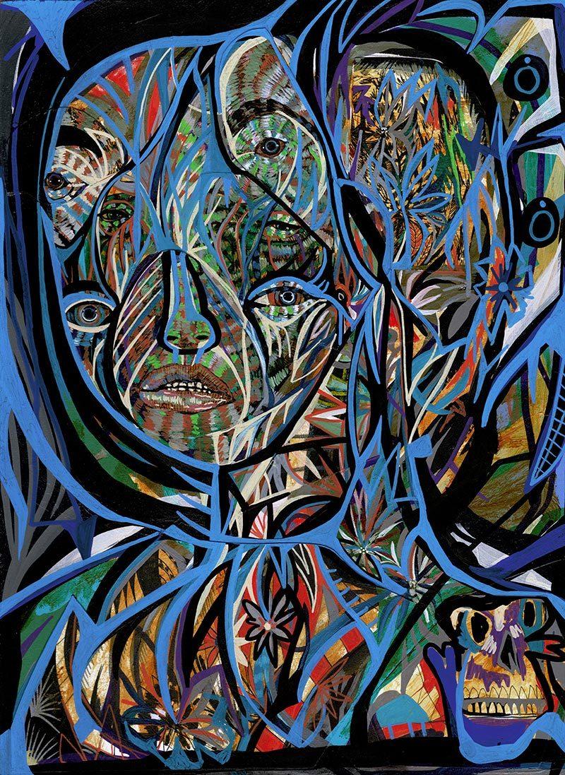 Jon Todd - Ghost Face 9
