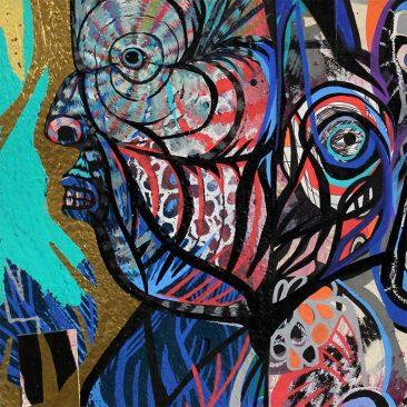 Jon Todd - Two Faced Devil (Detail 2)