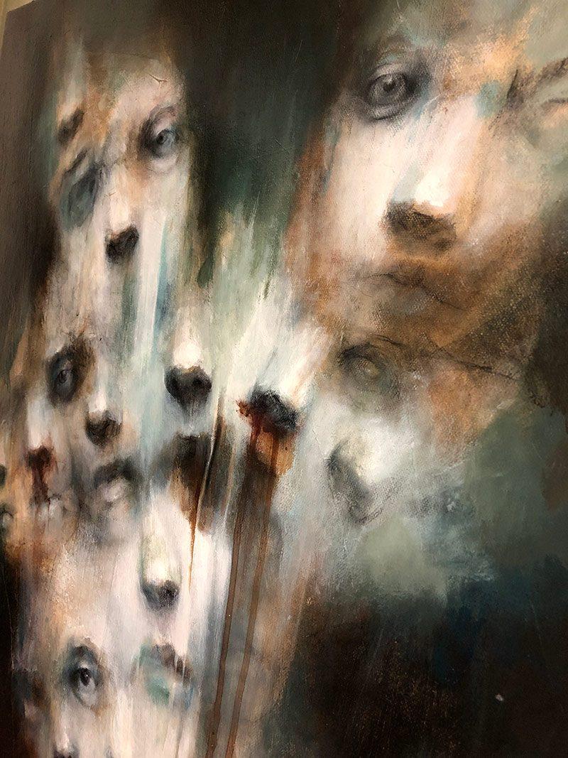 M. E. Tumulty - The Faces (Close-up 6)