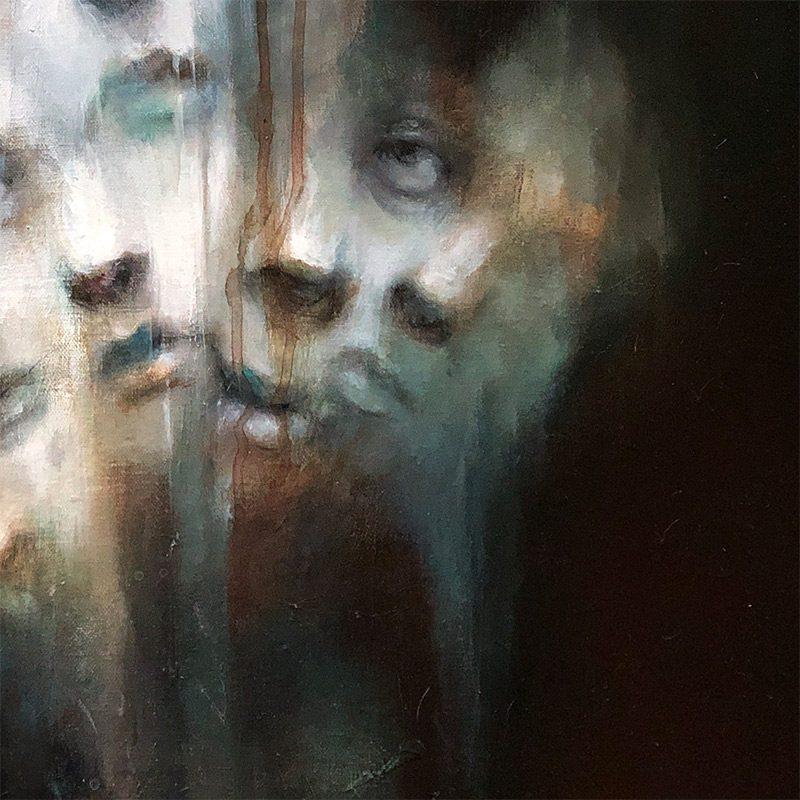 M. E. Tumulty - The Faces (Detail 3)