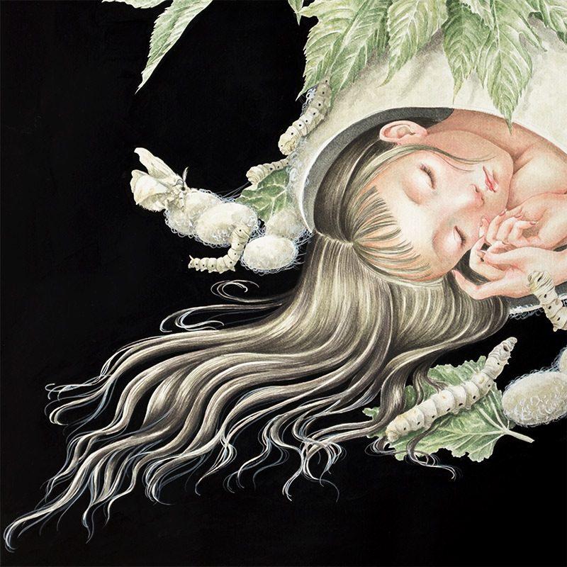 Phuong Nguyen - A Moth's Dream (Detail 2)