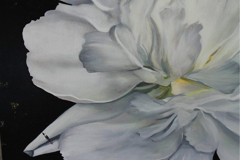 Richard Salcido - Flower #3 (Detail 1)