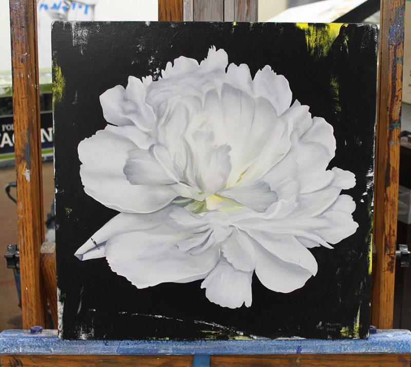 Richard Salcido - Flower #3 (Easel)