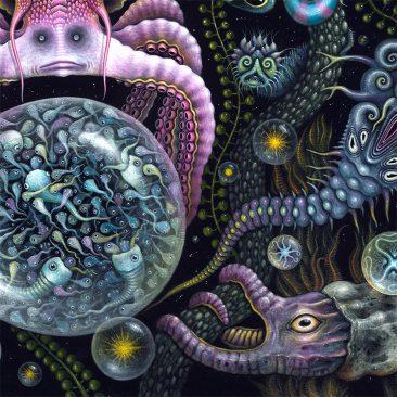 Robert Steven Connett - MICROVERSE III (Detail 4)