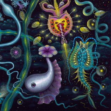 Robert Steven Connett - SPACE PLANKTON (Detail 4)