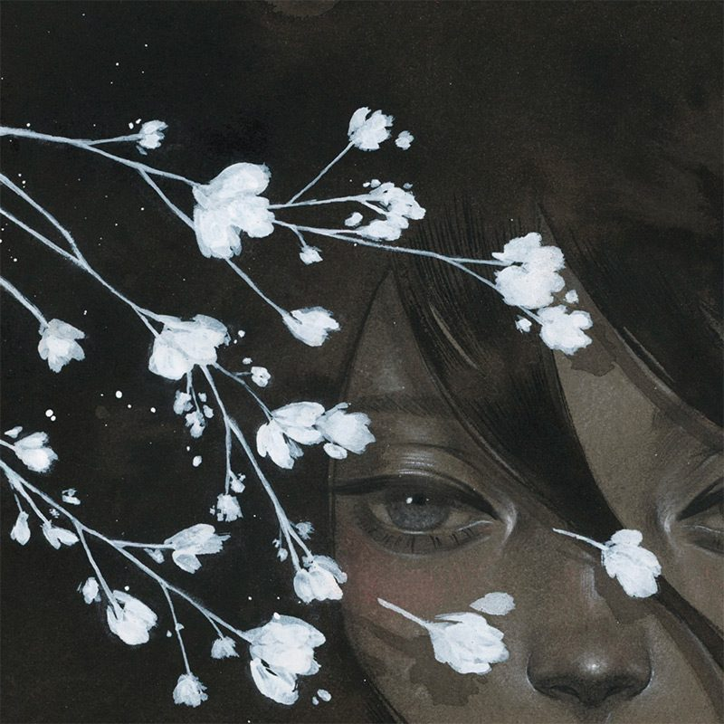 Shoko Ishida - Before the Night Falls (Detail 1)