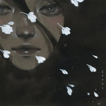 Shoko Ishida - Before the Night Falls (Detail 2)