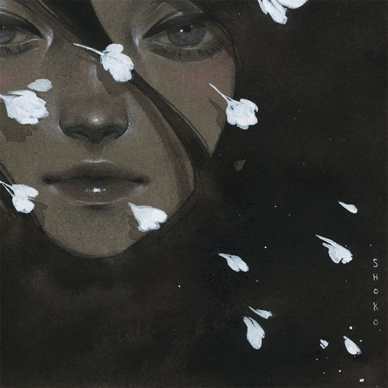 Shoko Ishida - Before the Night Falls (Detail 2)