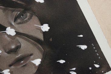 Shoko Ishida - Before the Night Falls (Detail 3)