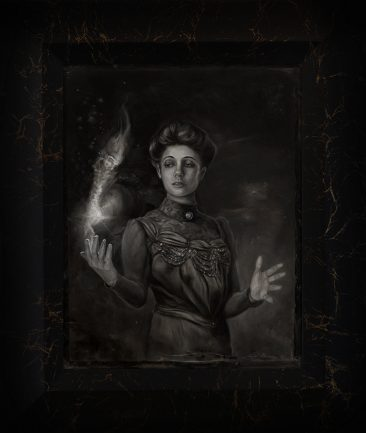 Sonya Palencia - Song of the Dead (Framed)