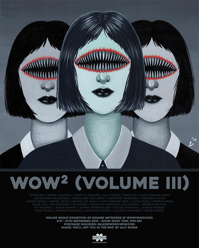 WOW² (Volume III) - Flyer (Ally Burke)