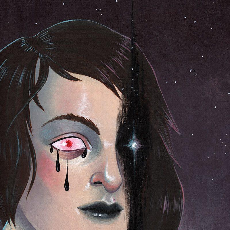 Ally Burke - Torn Space (Detail 1)