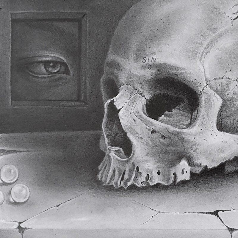 Amelia Hofsteede - Still Death (Detail 2)