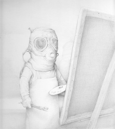 Chris Leib - Artist in the Studio