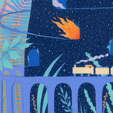 Natalie Foss - The Ride (Detail 3)