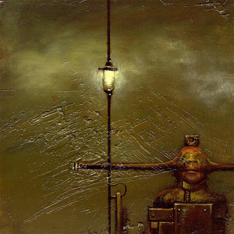 Josef Florian Krichbaum - Nightwatchman Guard (Detail 1)