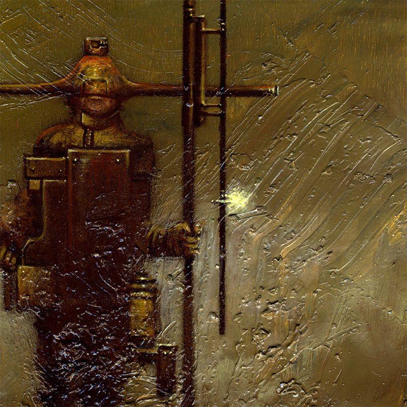 Josef Florian Krichbaum - Nightwatchman Guard (Detail 2)