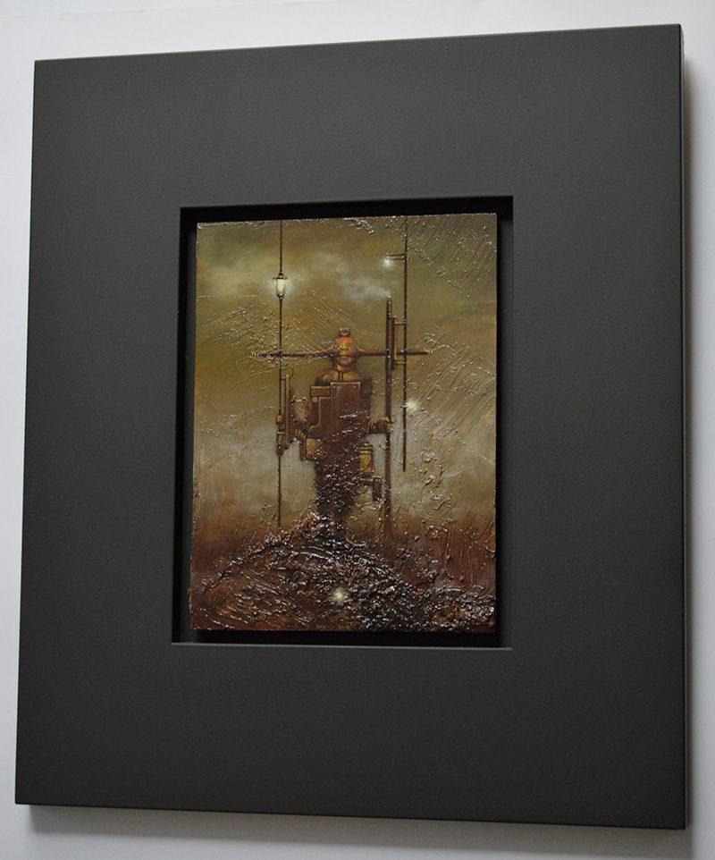 Josef Florian Krichbaum - Nightwatchman Guard (Framed 1)