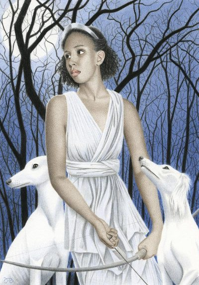 Julia Griffin - Artemis and Her Hounds